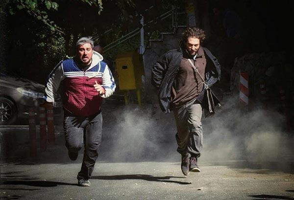 بهرام رادان و محسن کیایی در نمایی از فیلم «چهارراه استانبول»