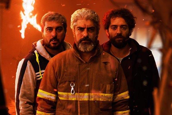 بهرام رادان، مهدی پاکدل و محسن کیایی در نمایی از فیلم «چهارراه استانبول»