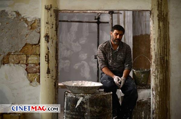 محسن تنابنده در نمایی از فیلم «عنکبوت» ساخته ابراهیم ایرج زاد