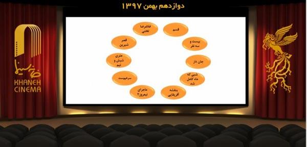 ده فیلم برتر آرای مردمی تا پایان روز دوم سی و هفتمین جشنواره فیلم فجر