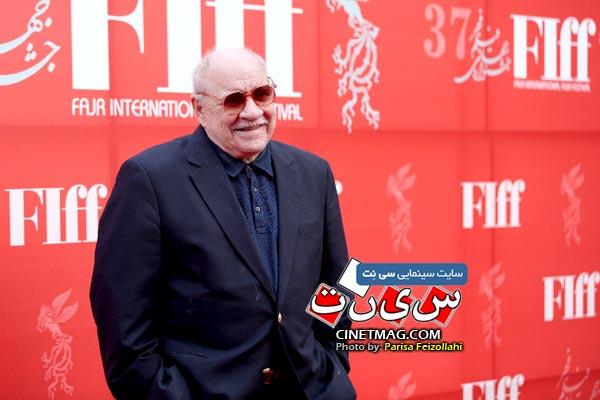 پل شریدر - سی و هفتمین جشنواره جهانی فیلم فجر / عکس: پریسا فیض الهی