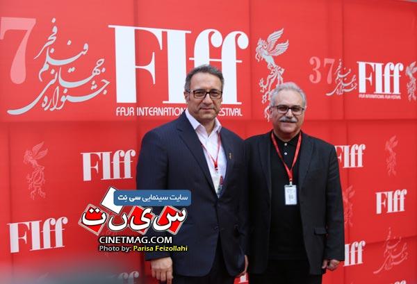 محمد حقیقت و سیدرضا میرکریمی - سی و هفتمین جشنواره جهانی فیلم فجر / عکس: پریسا فیض الهی