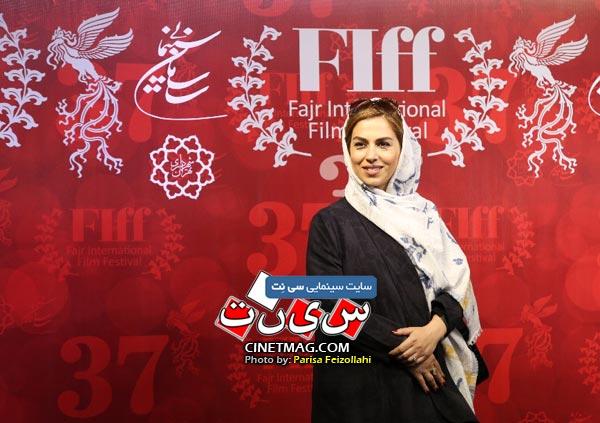 تینا پاکروان - سی و هفتمین جشنواره جهانی فیلم فجر / عکس: پریسا فیض الهی