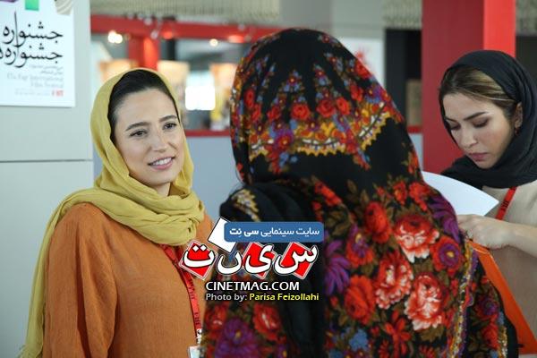 نگار جواهریان - سی و هفتمین جشنواره جهانی فیلم فجر / عکس: پریسا فیض الهی