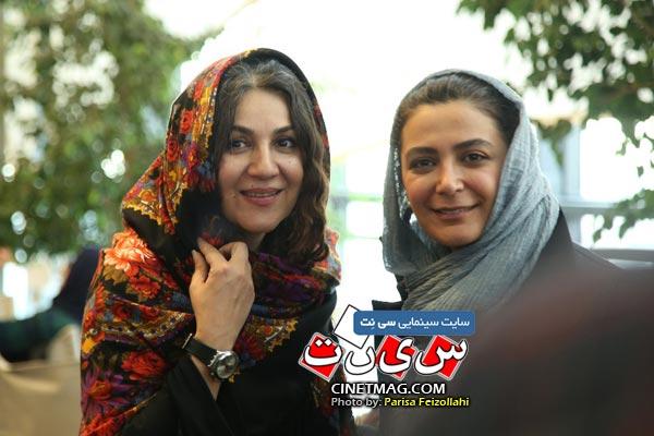 الهام کردا و ستاره اسکندری - سی و هفتمین جشنواره جهانی فیلم فجر / عکس: پریسا فیض الهی