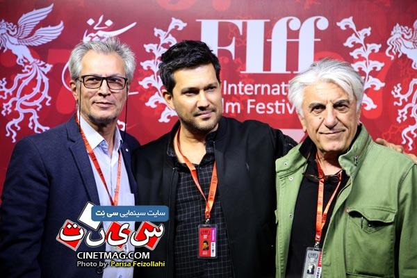 رضا کیانیان و حامد بهداد - سی و هفتمین جشنواره جهانی فیلم فجر / عکس: پریسا فیض الهی