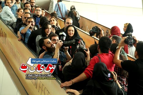 نیکی کریمی - سی و هفتمین جشنواره جهانی فیلم فجر / عکس: پریسا فیض الهی