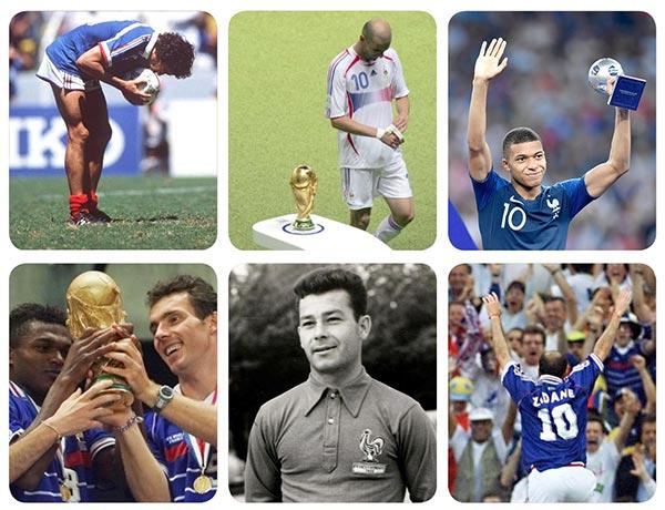 اوج و فرودهای تیم ملی فرانسه در ادوار تاریخ برگزاری جام جهانی