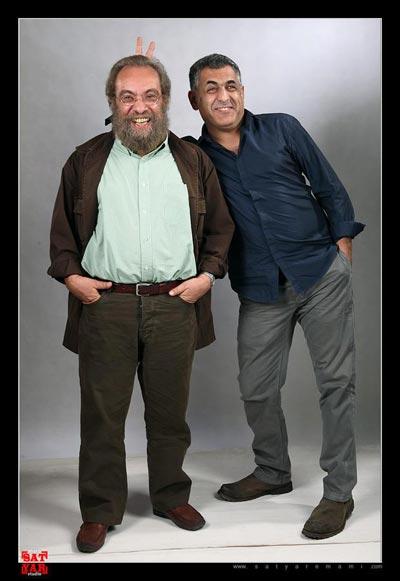 مانی حقیقی و مسعود فراستی - عکس: ساتیار امامی (عکس کاملا نامرتبط است با موضوع خبر)