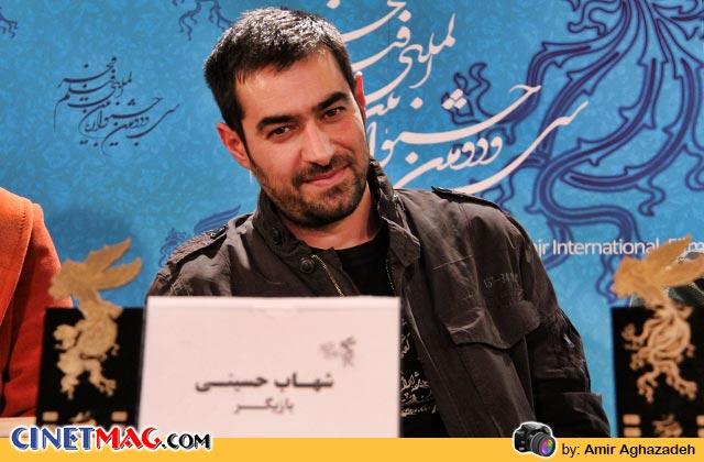 شهاب حسینی در نشست پرسش و پاسخ فیلم «خانه پدری» - سی و دومین جشنواره فیلم فجر