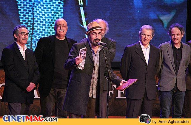 رضا عطاران برنده سیمرغ بلورین بهترین بازیگر نقش اول مرد برای بازی در فیلم