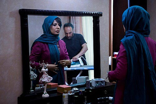آیدا کیخایی و علی سرابی در نمایی از فیلم