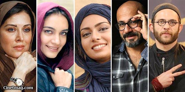 بابک حمیدیان با 5 و پگاه آهنگرانی، میترا حجار و مهتاب کرامتی با 4 فیلم پرکارترین بازیگران جشنواره سی و سوم فیلم فجر