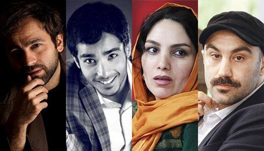 محسن طنابنده، مرجان شیرمحمدی، ساعد سهیلی و آرش مجیدی - بازیگران اصلی فیلم