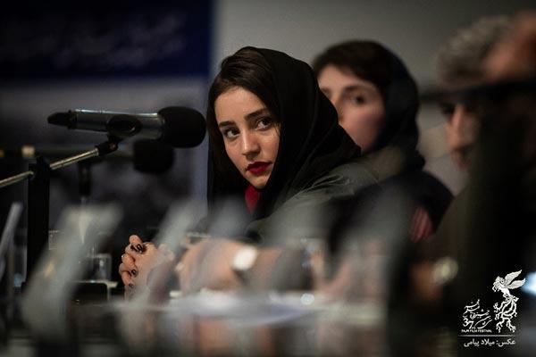 سها نیاستی در نشست پرسش و پاسخ فیلم «سال دوم دانشکده من»