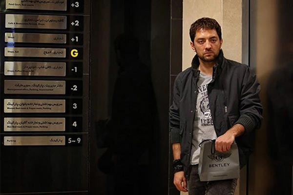 بهرام رادان در نمایی از فیلم