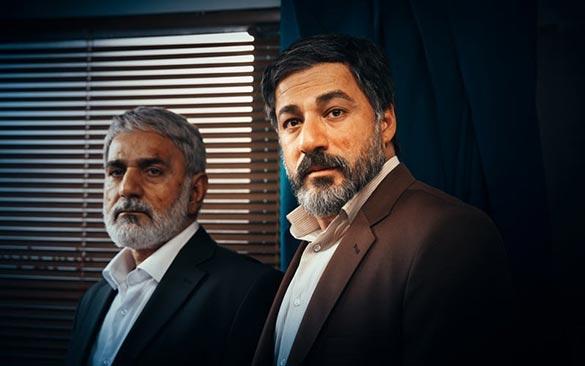 امیر آقایی و پرویز پرستویی در نمایی از فیلم سینمایی