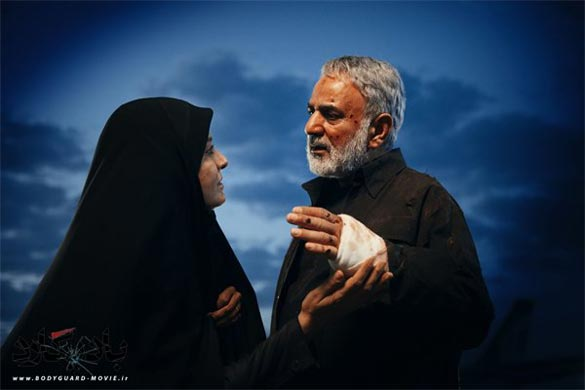 پرویز پرستویی و مریلا زارعی در نمایی از فیلم سینمایی