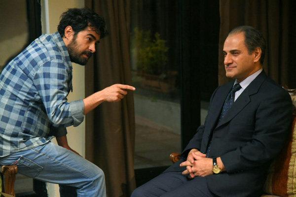 شهاب حسینی و ناصر هاشمی در نمایی از فیلم سینمایی