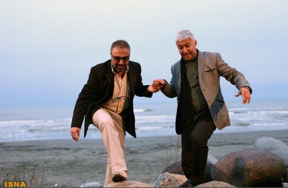 حامد بهداد و رضا عطاران در نمایی از فیلم
