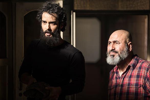حمید فرخ نژآد و ساعد سهیلی در نمایی از فیلم