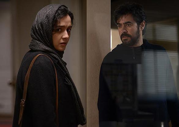ترانه علیدوستی و شهاب حسینی در نمایی از فیلم سینمایی