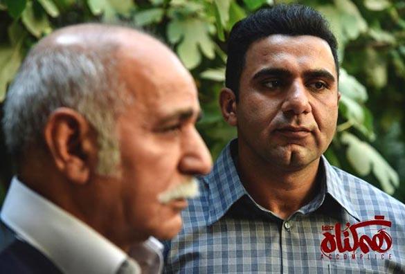 پرویز پرستویی و پسرش در سریال «هم گناه»