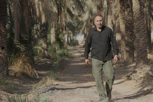 حمید فرخ نژاد در نمایی از فیلم چهار اپیزودی