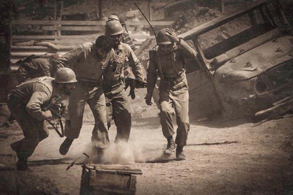 فیلم سینمایی «ایستاده در غبار» به کارگردانی محمد حسین مهدویان