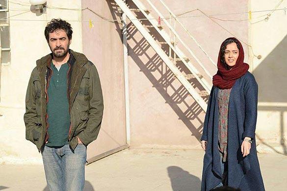 ترانه علیدوستی و شهاب حسینی در نمایی از فیلم