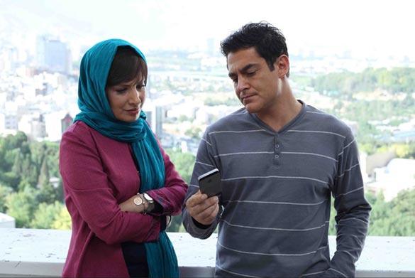 محمد رضا گلزار و آیدا کیخانی در نمایی از فیلم سینمایی