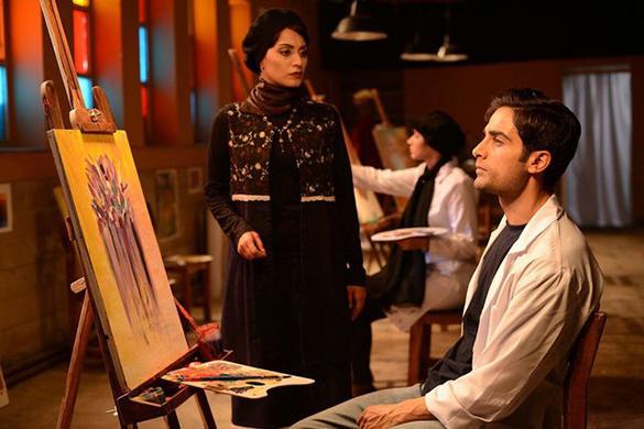بهاره کیان افشار در نمایی از فیلم سنیمایی