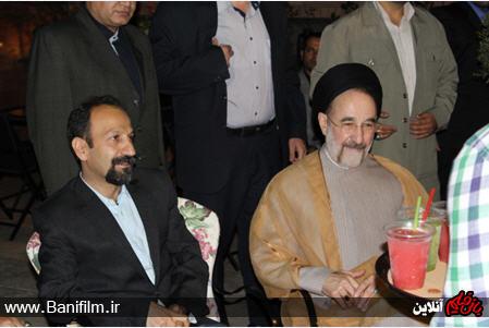 دیدار سید محمد خاتمی و اصغر فرهادی