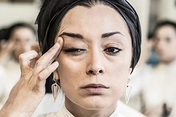 مریم پالیزان در نمایی از فیلم سینمایی