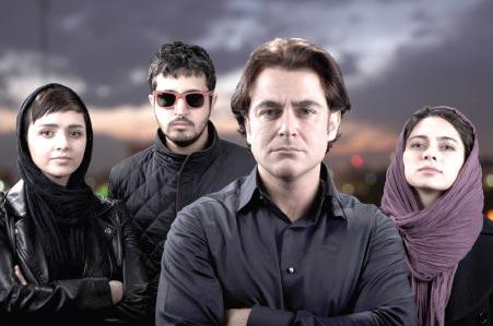 پگاه آهنگرانی، محمدرضا گلزار، مهرداد صدیقیان و ترانه علیدوستی -