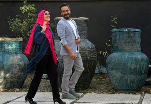 میلاد کی مرام و ماهور الوند در نمایی از فیلم سینمایی