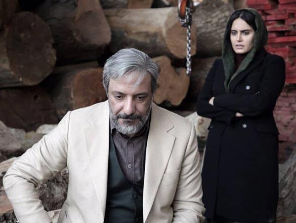امیر جعفری و الناز شاکردوست در نمایی از فیلم سینمایی «من می ترسم» به کارگردانی بهنام بهزادی