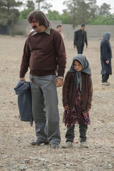 مهران احمدی در نمایی از فیلم سینمایی