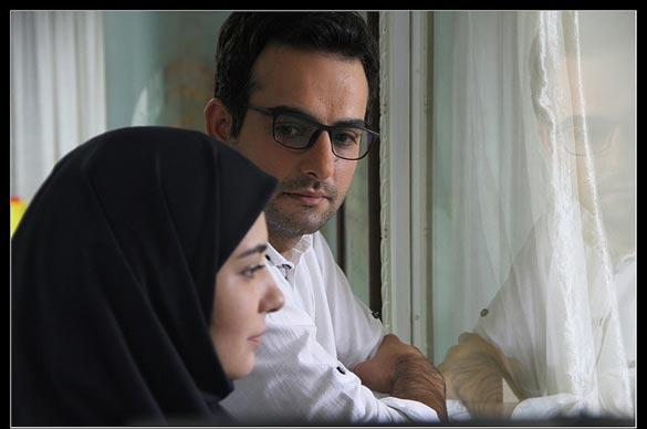 حامد کمیلی در نمایی از سریال نفس گرم به کارگردانی