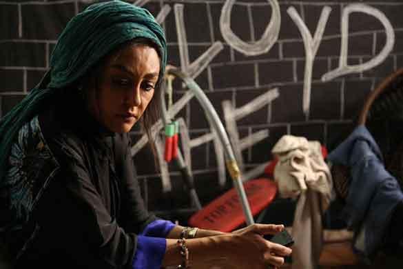 شقایق فراهانی در نمایی از فیلم سینمایی