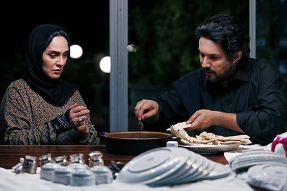 حامد بهداد و رویا نونهالی در نمایی از فیلم سینمایی