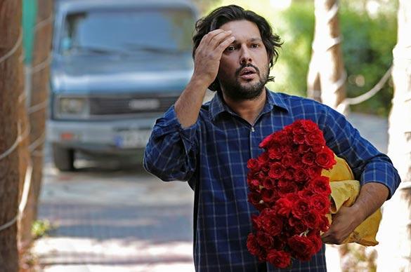 حامد بهداد در نمایی از فیلم سینمایی