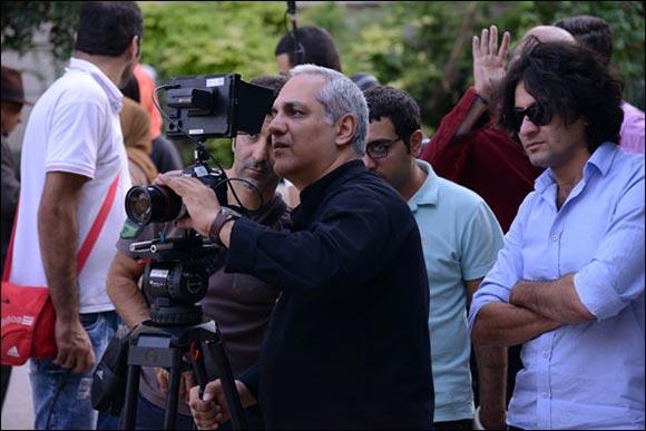 مهران مدیری در پشت صحنه سریال