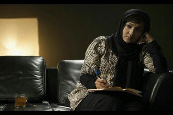 نیکی کریمی در نمایی از فیلم سینمایی