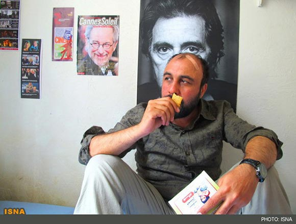 رضا عطاران در نمایی از فیلم