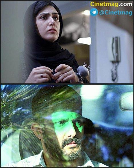 باران کوثری و حامد بهداد در نمایی از فیلم سینمایی