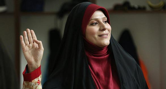 سحر دولتشاهی در نمایی از فیلم سینمایی