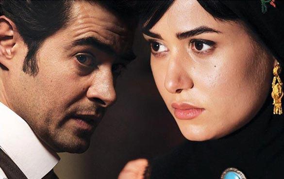 پریناز ایزدیار و شهاب حسینی در نمایی از قسمت سوم سریال
