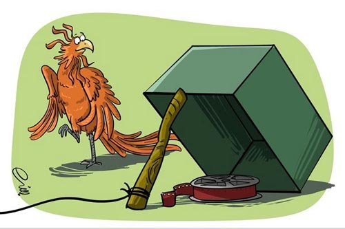 کاریکاتور: شکار سیمرغ