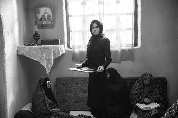 ماهور الوند در نمایی از فیلم سینمایی «غلامرضا تختی»